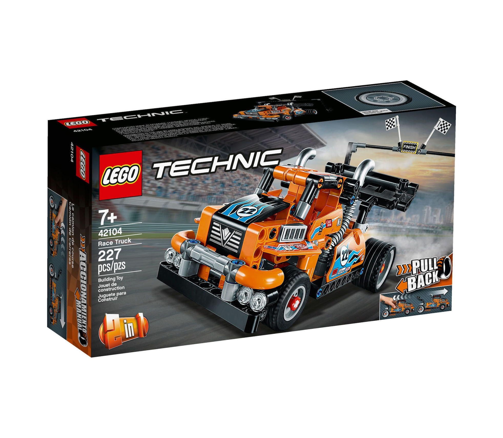 Lego Technic: Race Truck 42104