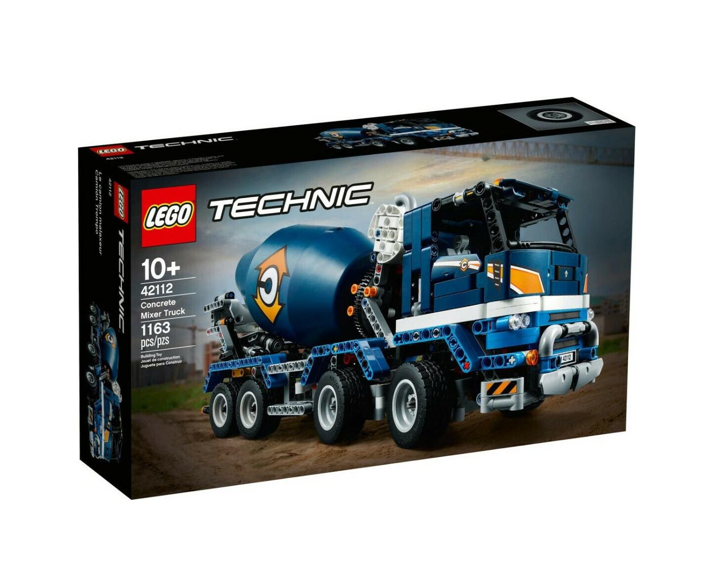 Lego Technic: Concrete Mixer Truck 42112