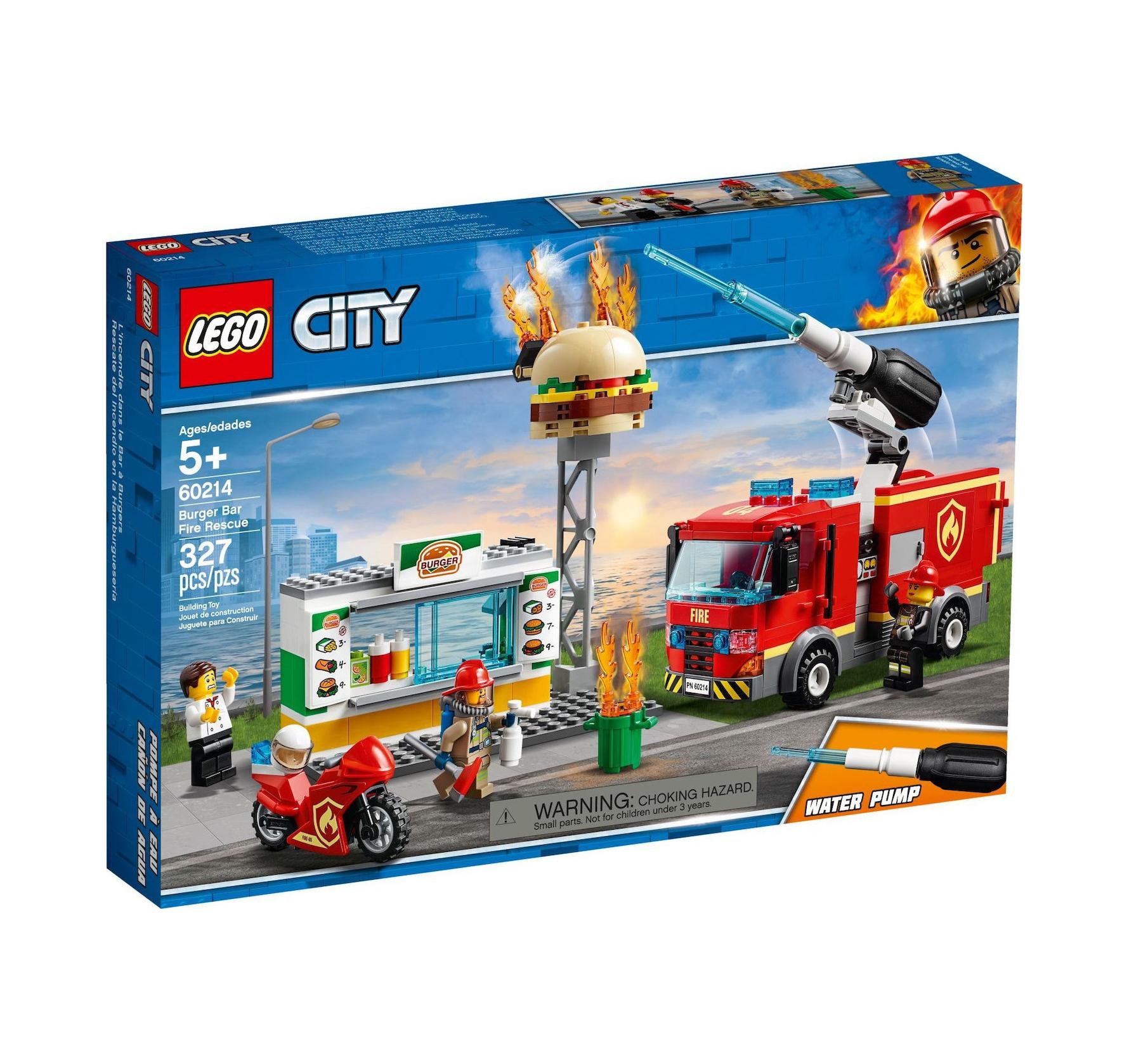 Lego City: Burger Bar Fire Rescue 60214