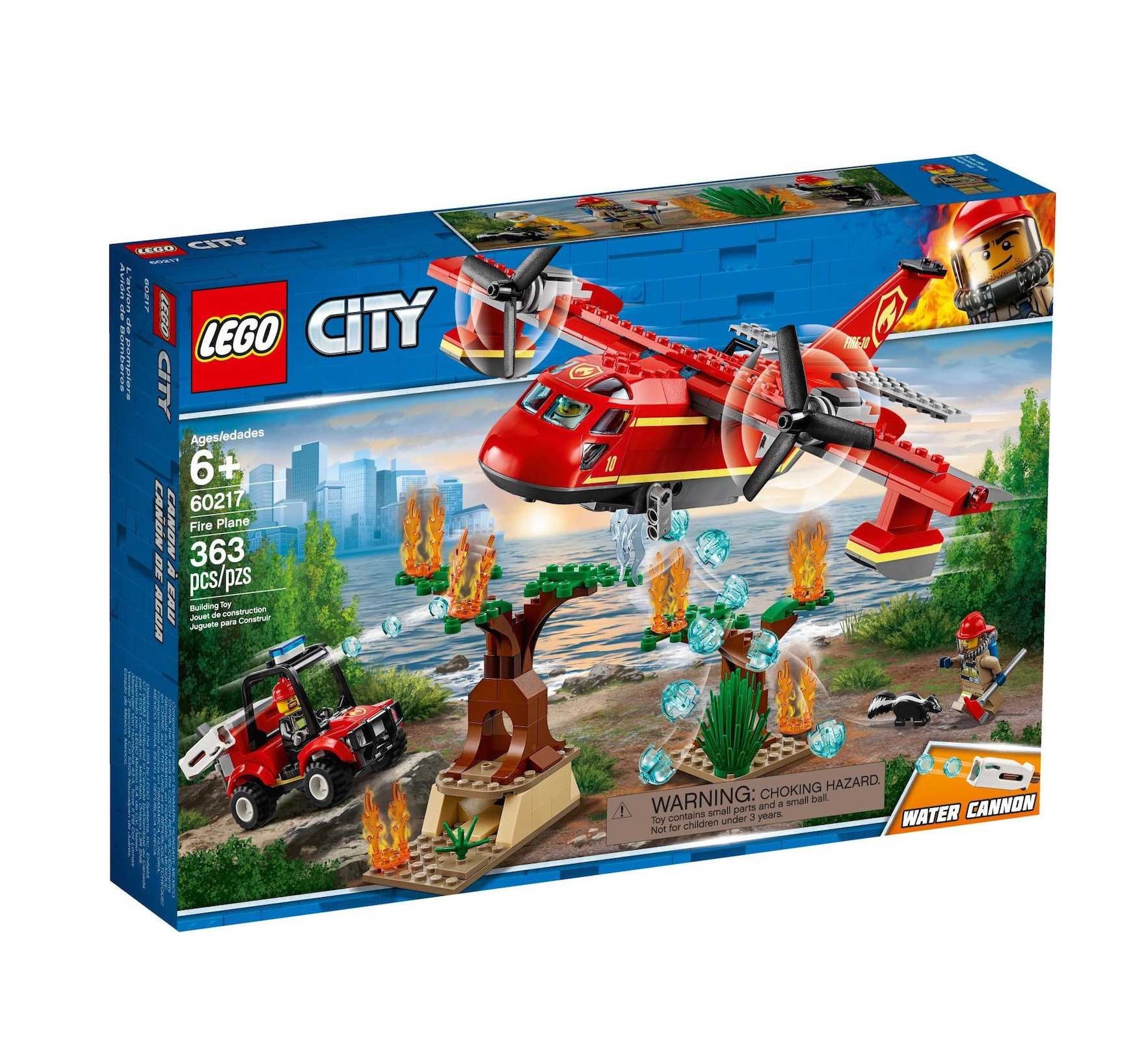 Lego City: Fire Plane 60217