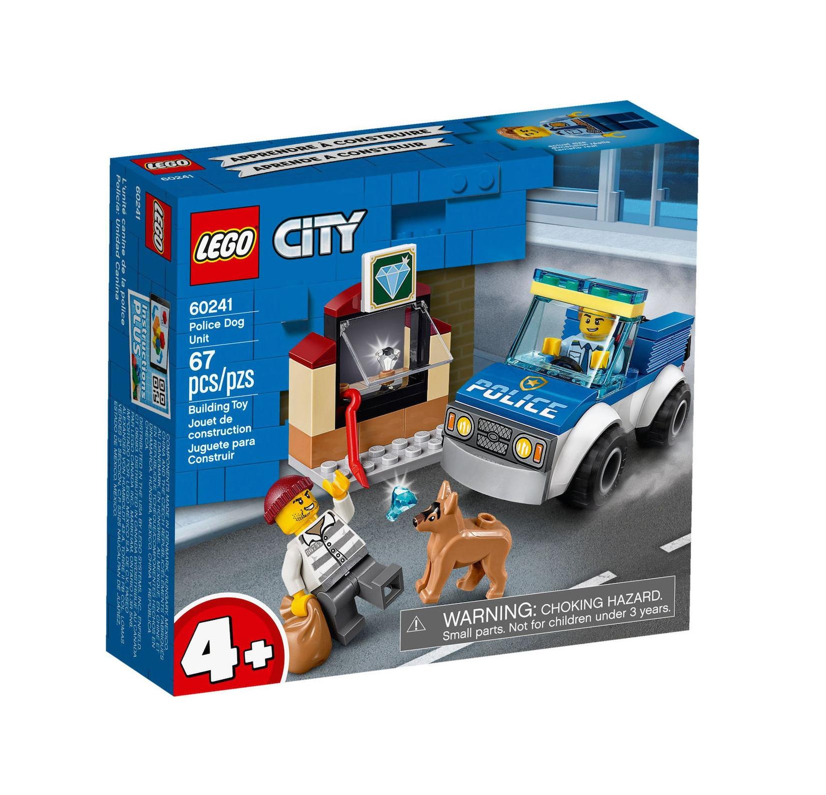 Lego City: Police Dog Unit 60241