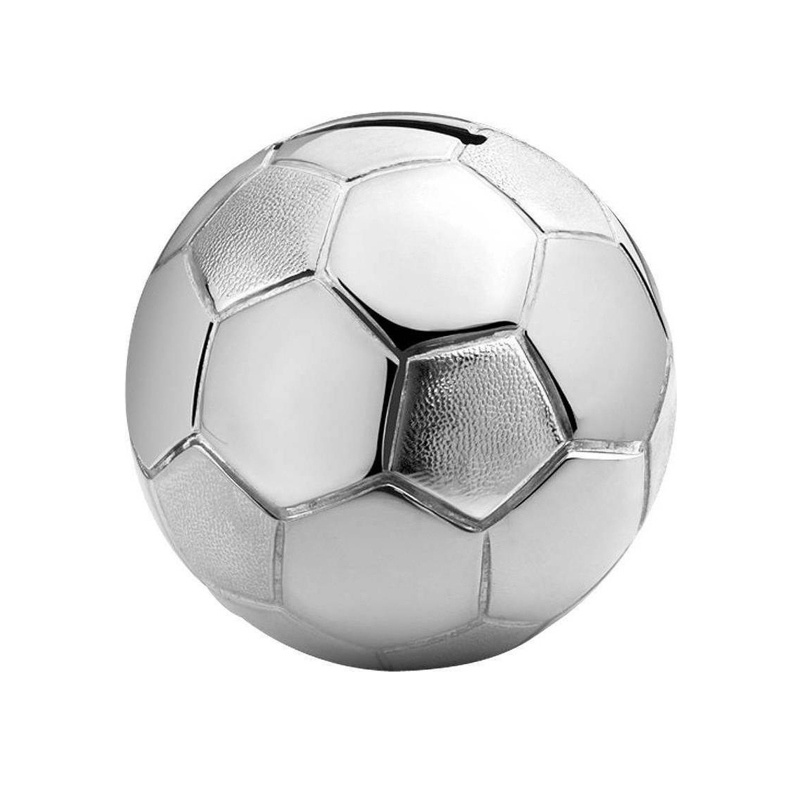Zilverstad Savings Box Fußball Silver plated,lacquered A6007260 Κουμπαράς Μπάλα