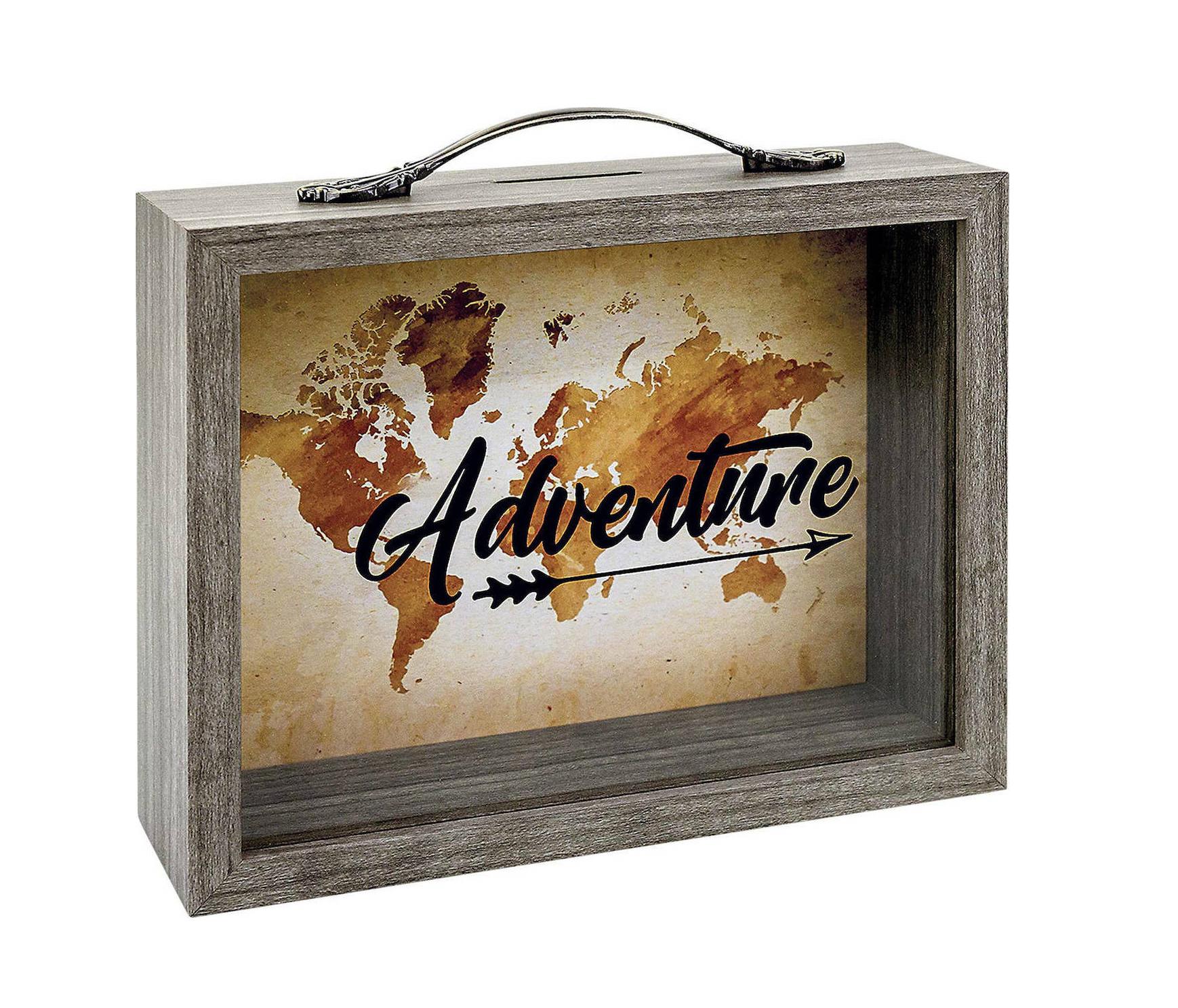ZEP Vida 6,5x21 Holz/Glas Savings Box RM1093 Κουμπαράς