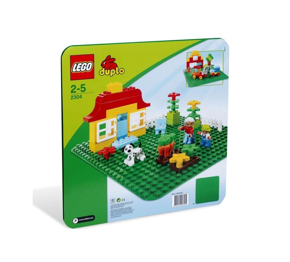 Lego Duplo Μεγάλη Πράσινη Βάση Κατασκευών 2304