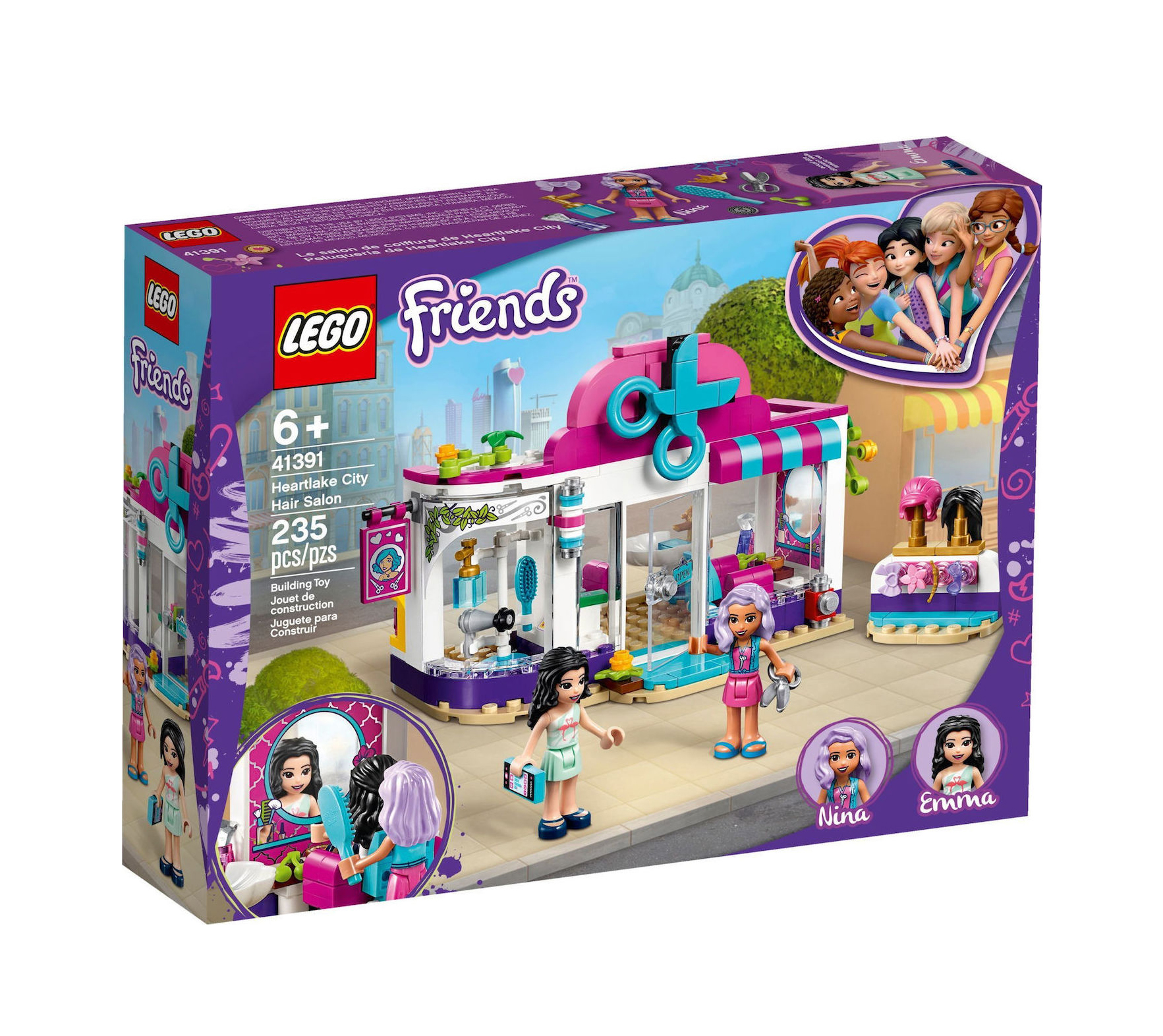 Lego Friends: Heartlake City Hair Salon 41391