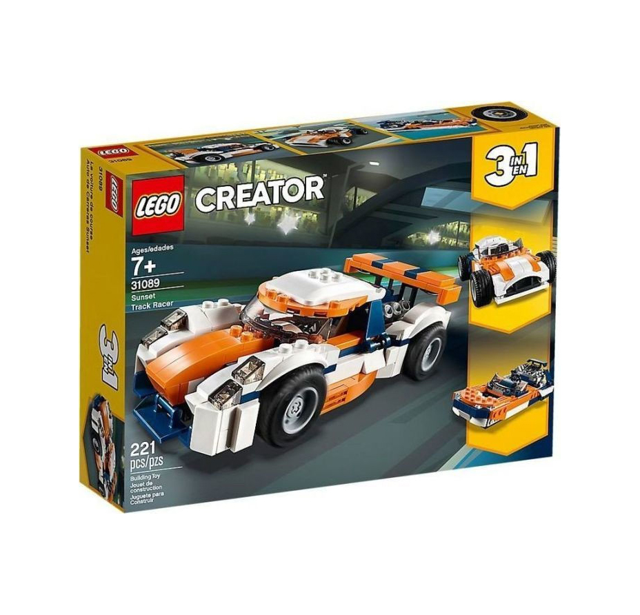 Lego Creator: Sunset Track Racer 31089
