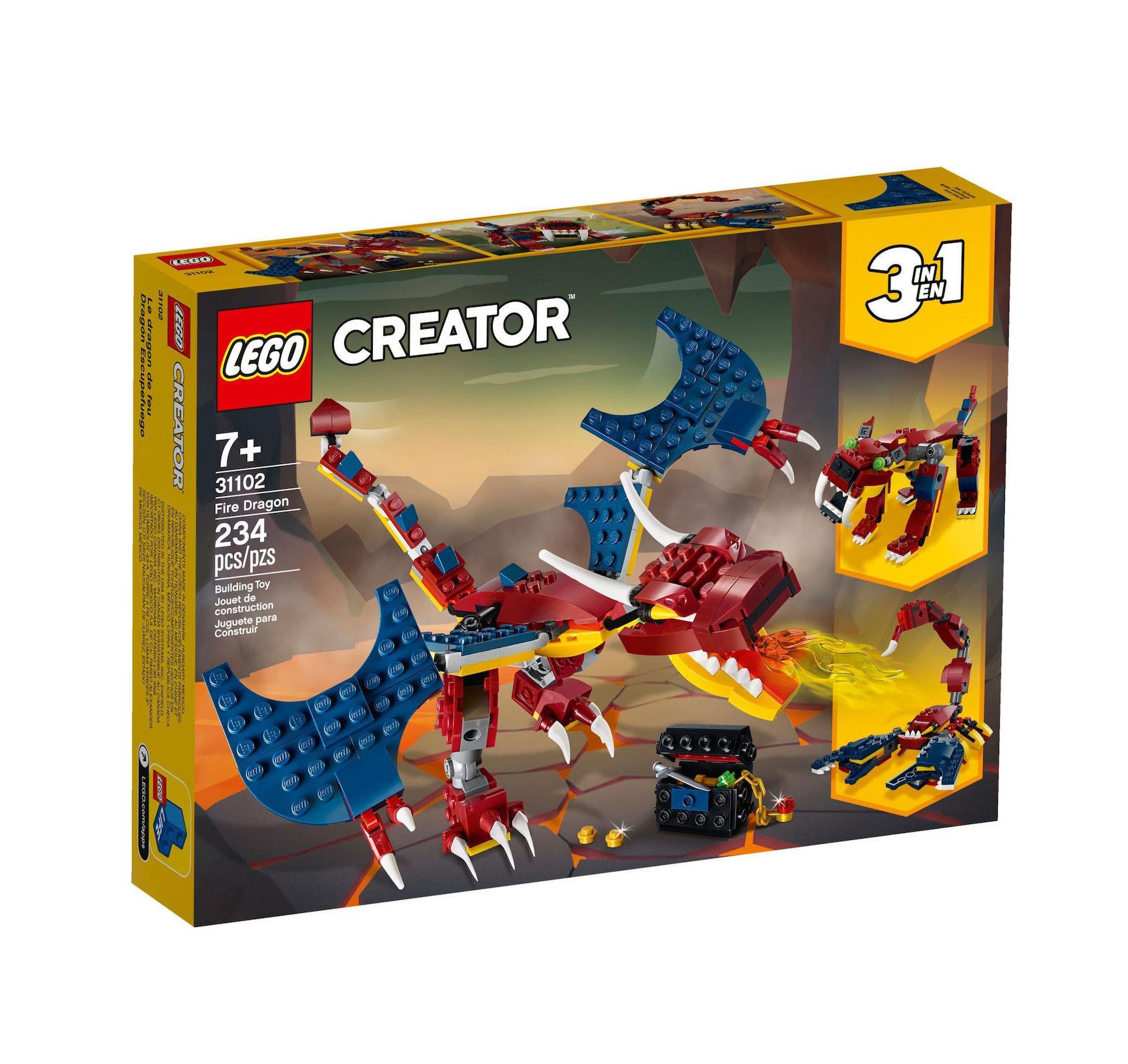 Lego Creator 3-in-1: Fire Dragon 31102