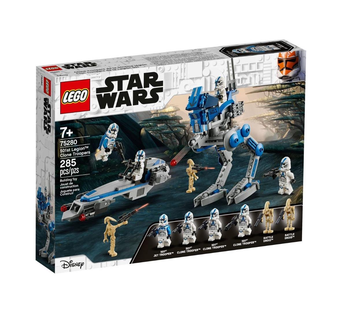 Lego Star Wars: 501st Legion Clone Troopers 75280