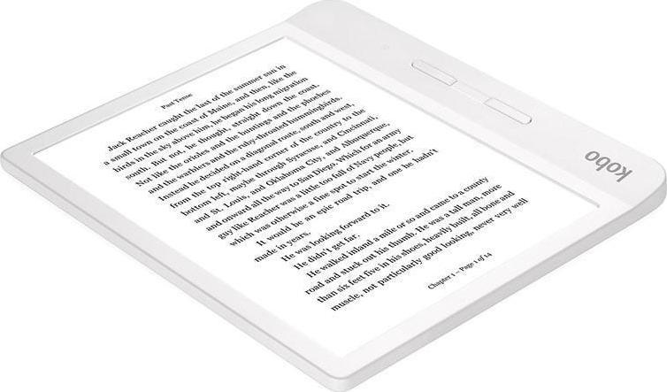 Kobo Libra H2O N873-KU-WH-K-EP Ebook Reader White