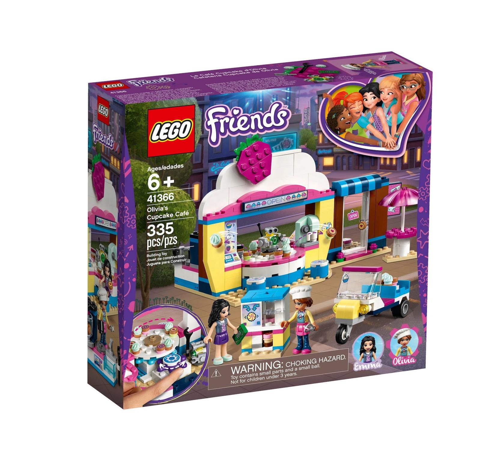 Lego Friends: Olivia's Cupcake Cafe 41366