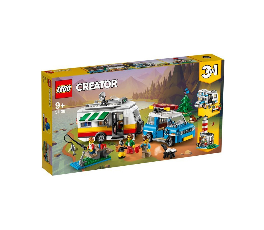 Lego Creator 3-in-1: Caravan Family Holiday 31108