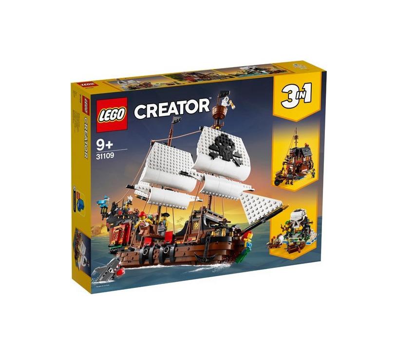 Lego Creator: Pirate Ship 31109