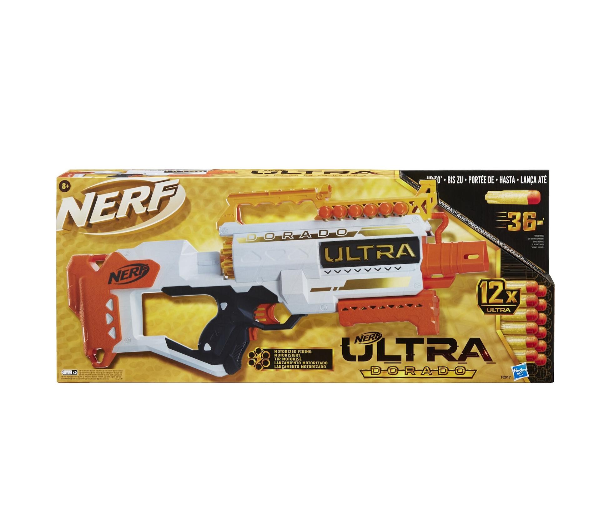 Hasbro Nerf Ultra Dorado with 12 Darts F2017
