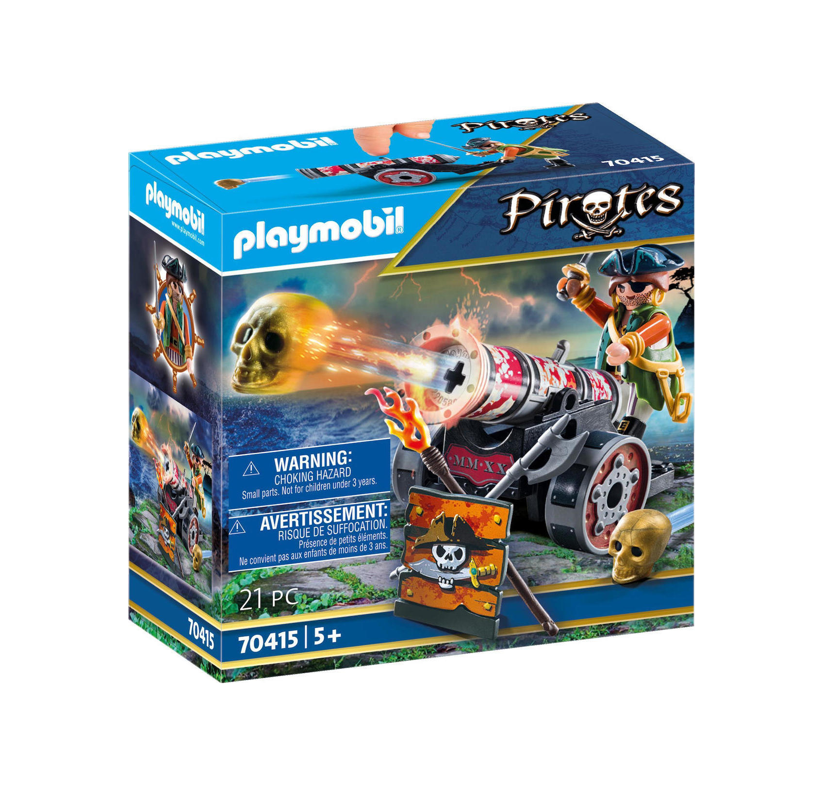 Playmobil Pirates: Pirate with Cannon 70415