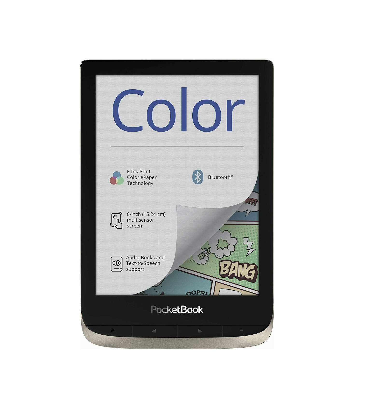 Pocketbook Color Silver Moon (16GB) Ebook Reader