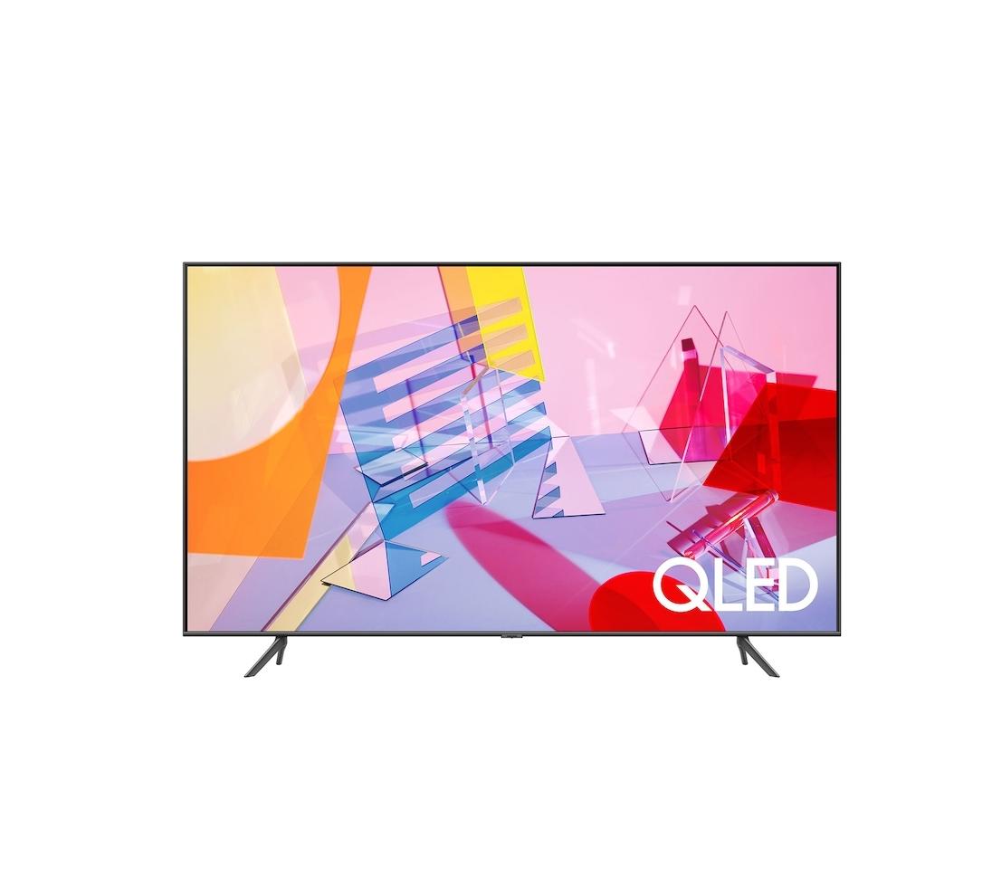 """Samsung QE55Q60T Smart 4K UHD 55"""" Τηλεόραση Πληρωμή έως 24 δόσεις"""