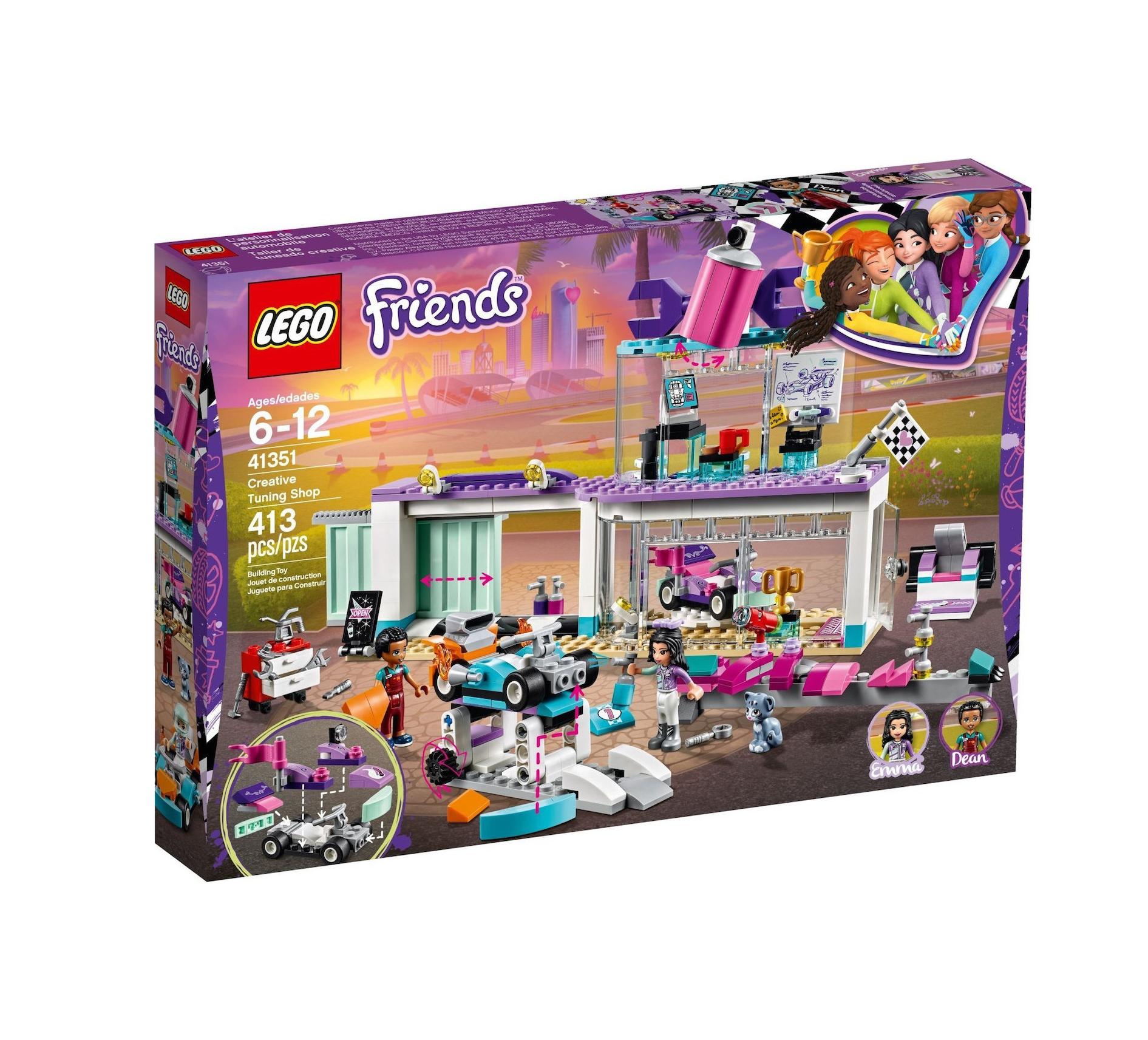 Lego Friends: Creative Tuning Shop 41351