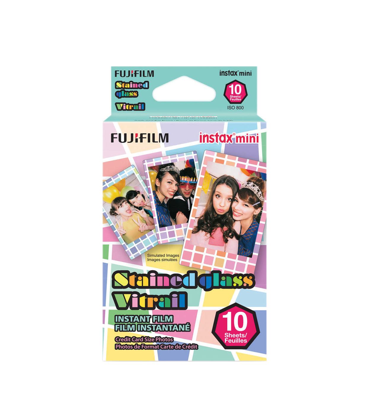 Fujifilm Instax Mini Stained Glass (10 Exposures) 16203733 Φιλμ