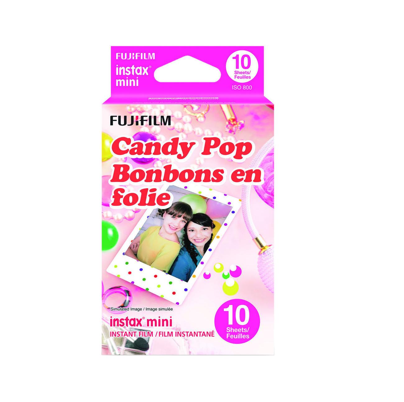 Fujifilm Instax Mini Candy Pop (10 Exposures) New 70100139614 Φιλμ