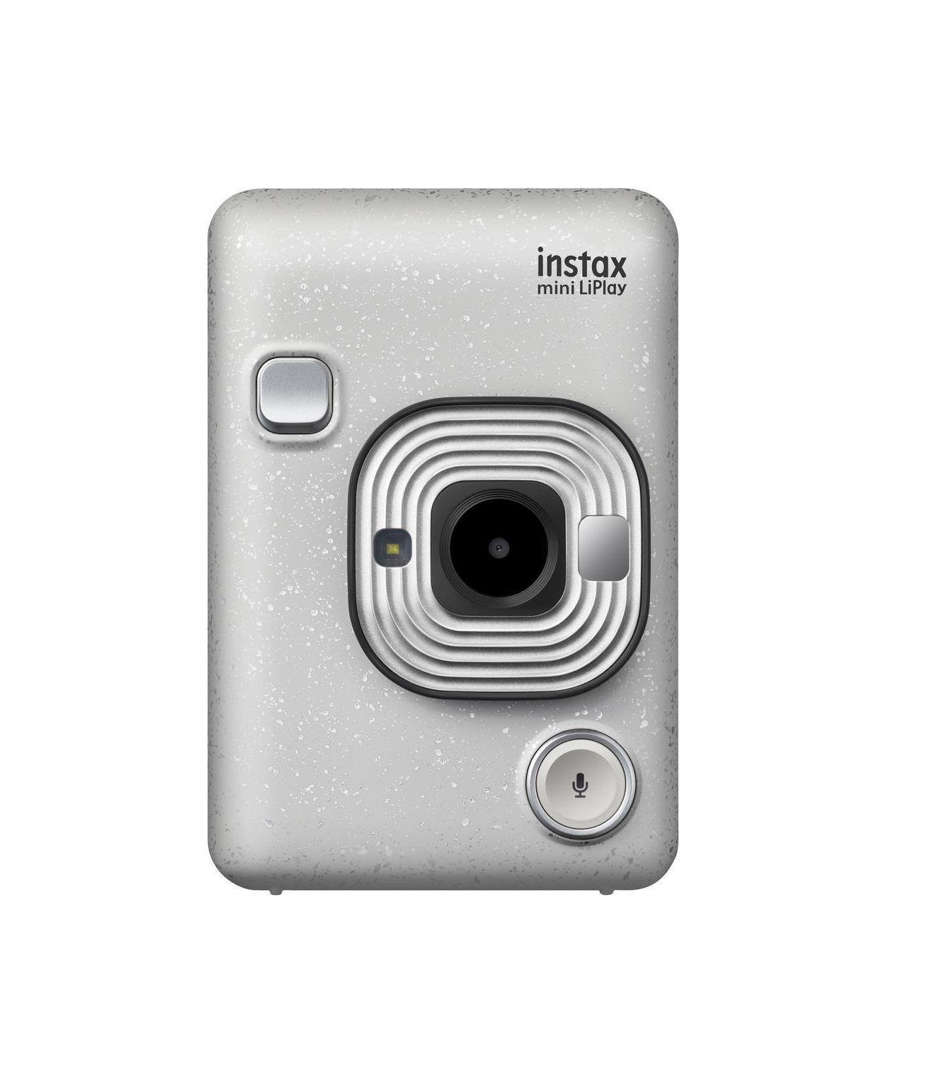 Fujifilm Instax Mini LiPlay Stone White Αναλογική Φωτογραφική Μηχανή 16631758