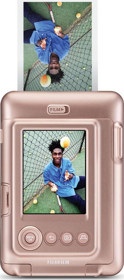 Fujifilm Instax Mini LiPlay Blush Gold Αναλογική Φωτογραφική Μηχανή 16631849