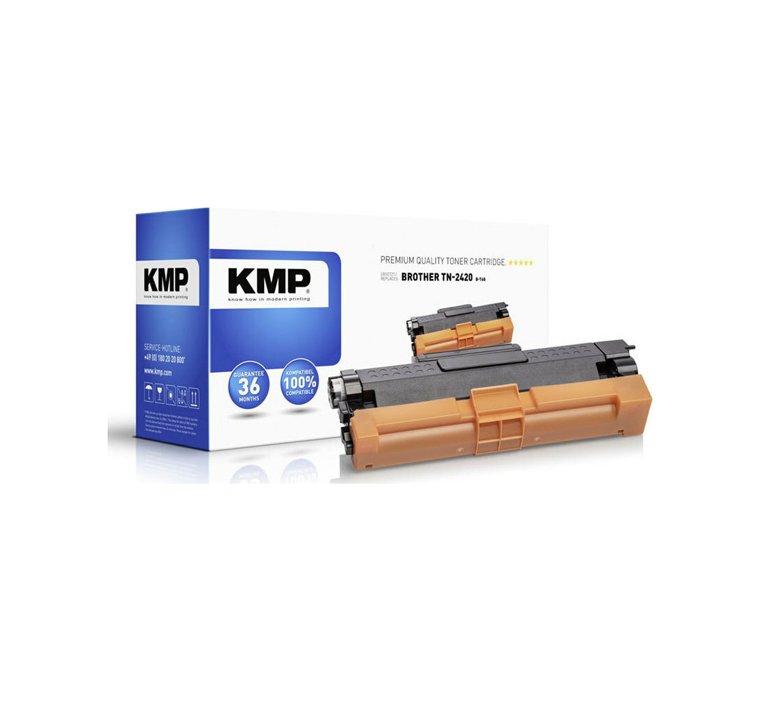 KMP B-T116 Toner black compatible with Brother TN-2420 1267,3000