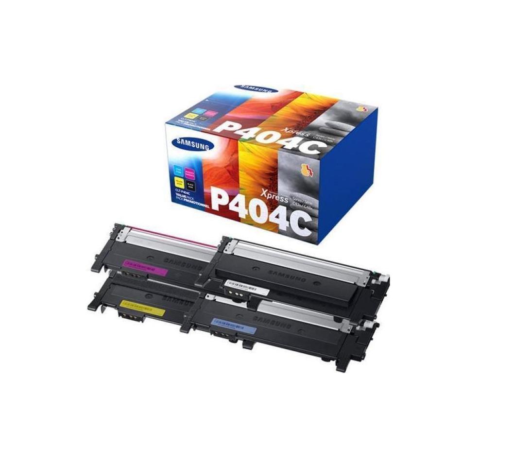 Samsung CLT-P404C B/C/M/Y Toner 4-pack SU365A