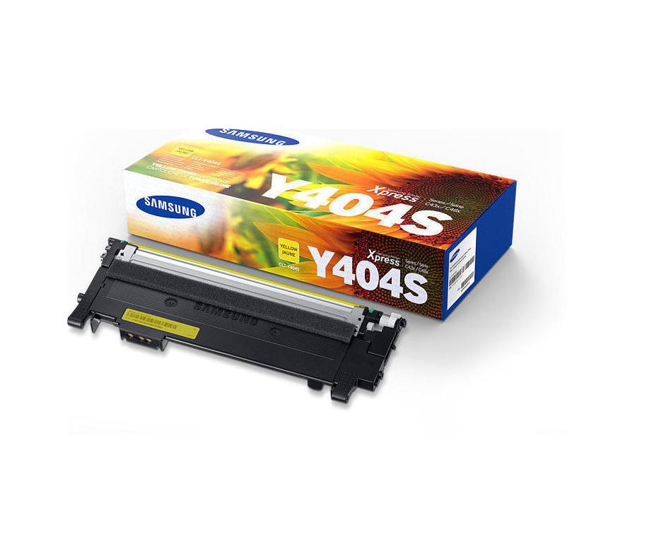 Samsung CLT-Y404S Yellow Toner SU444A