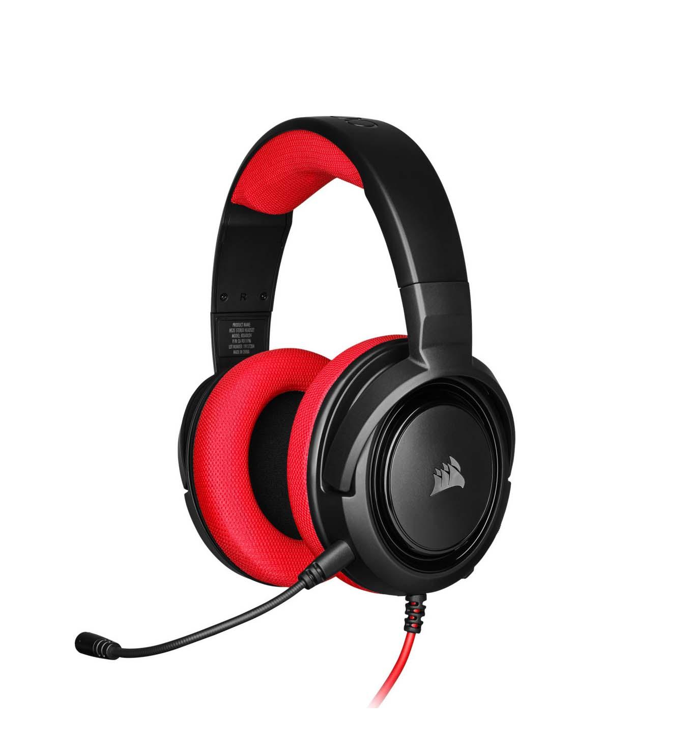Corsair HS35 Red Headphones CA-9011198-EU