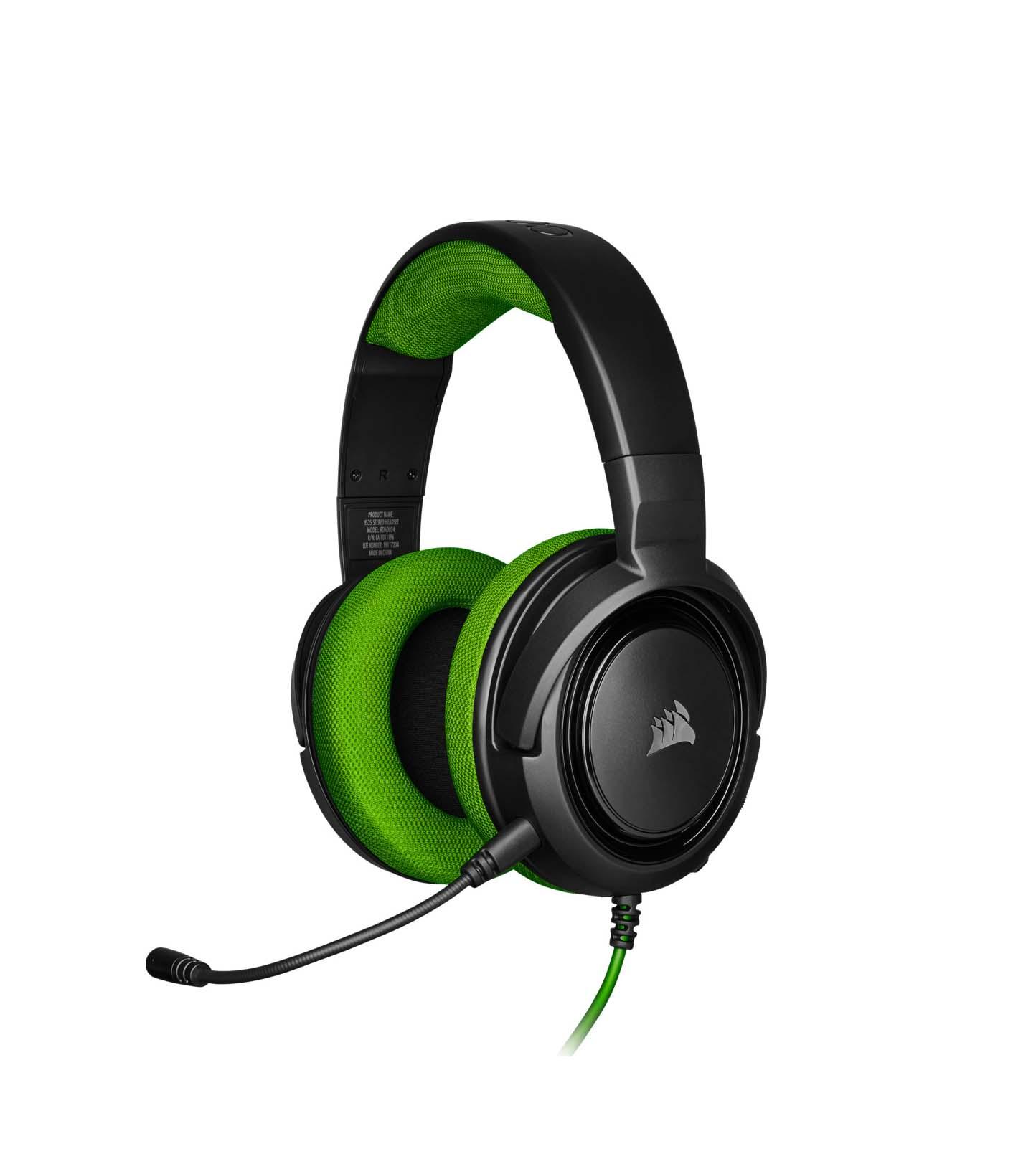 Corsair HS35 Green Headphones CA-9011197-EU