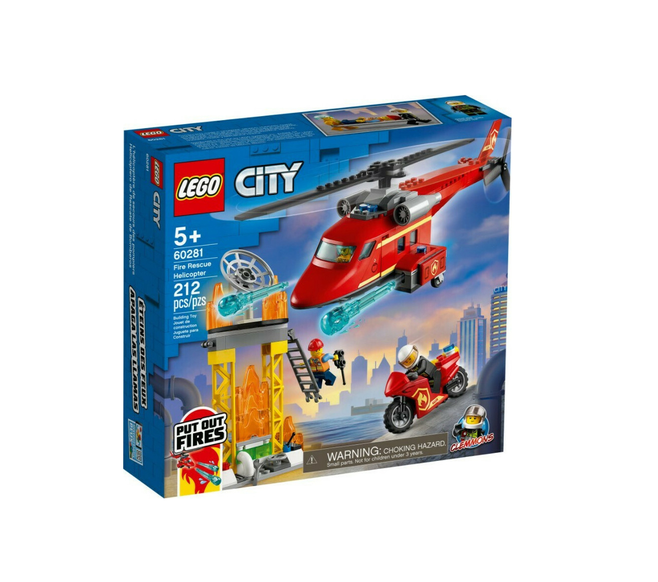Lego City: Fire Rescue Helicopter 60281