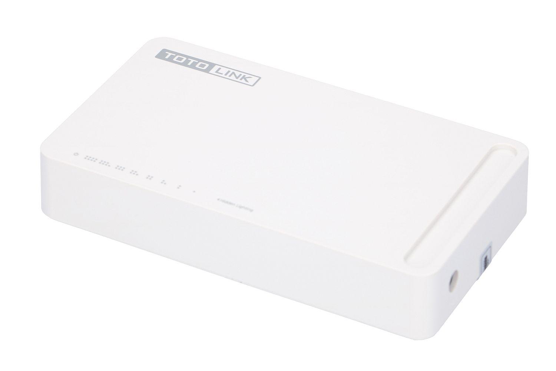 Totolink S808 Switch 8x RJ45 100Mb/s, Desktop