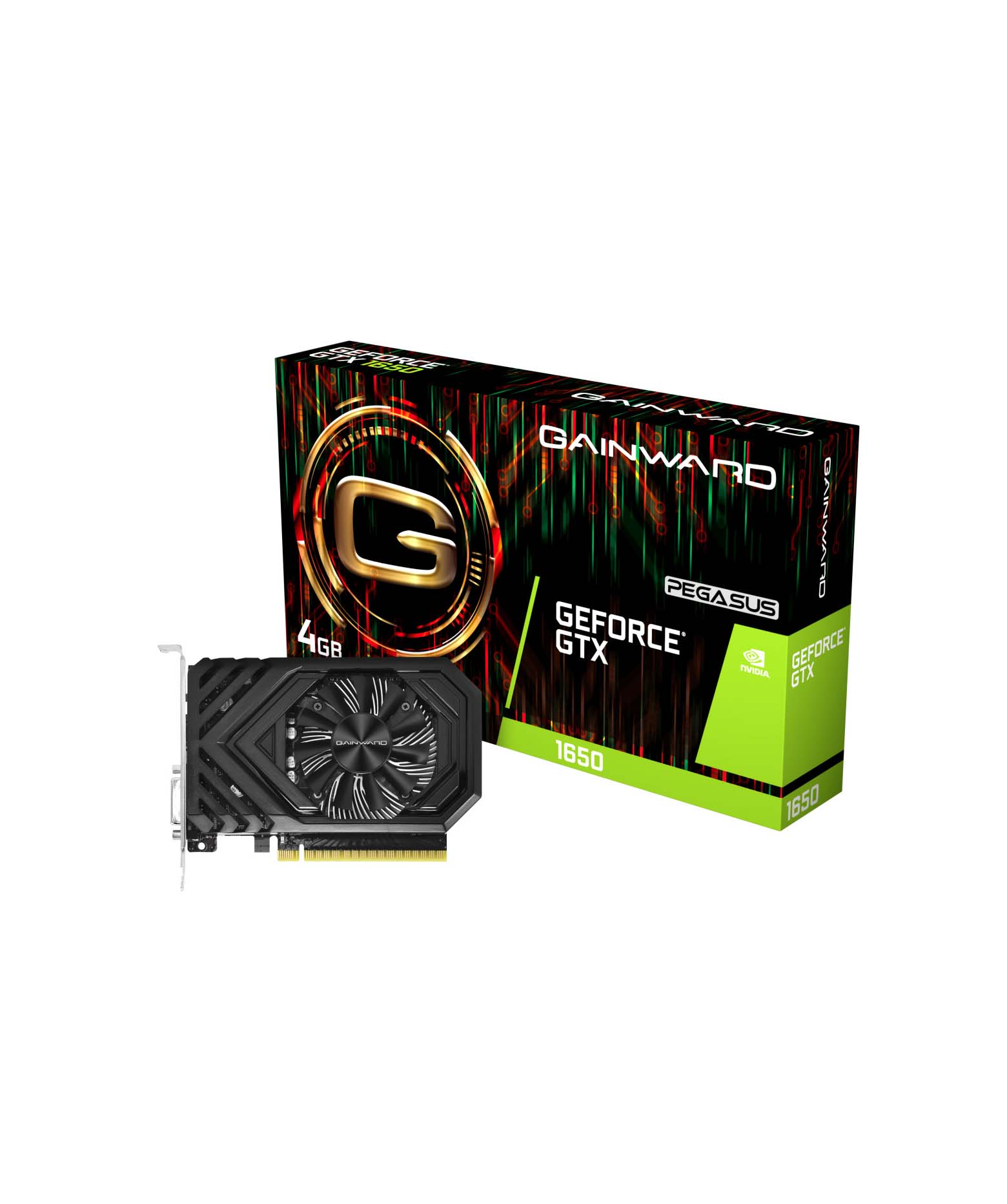 Gainward GeForce GTX 1650 4GB Pegasus 426018336-4467 Κάρτα Γραφικών