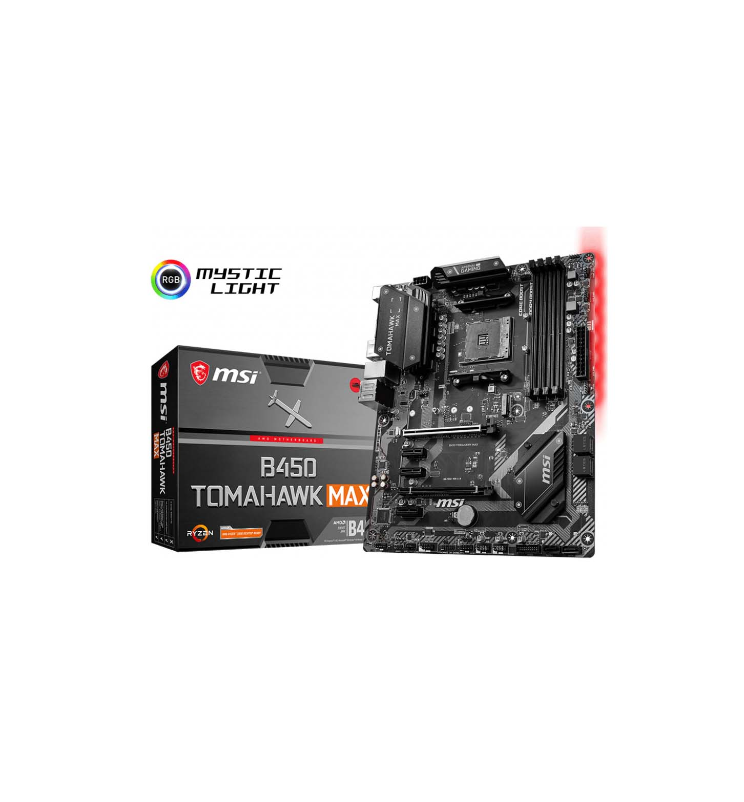 MSI B450 Tomahawk Max 7C02-020R Μητρική Κάρτα