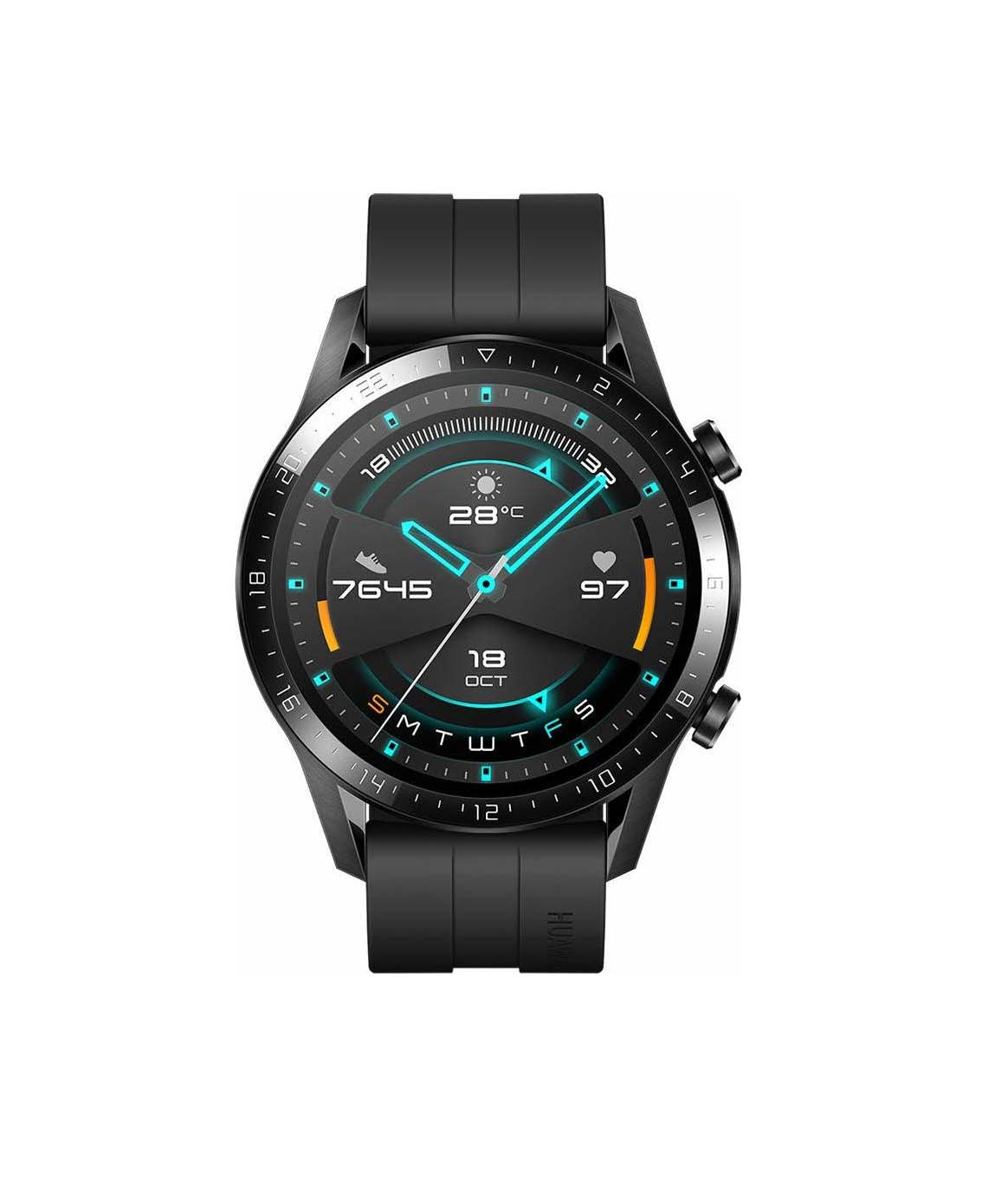 Huawei Watch GT 2 Sport 46mm Matte Black 4061856507613 Πληρωμή έως 24 δόσεις*