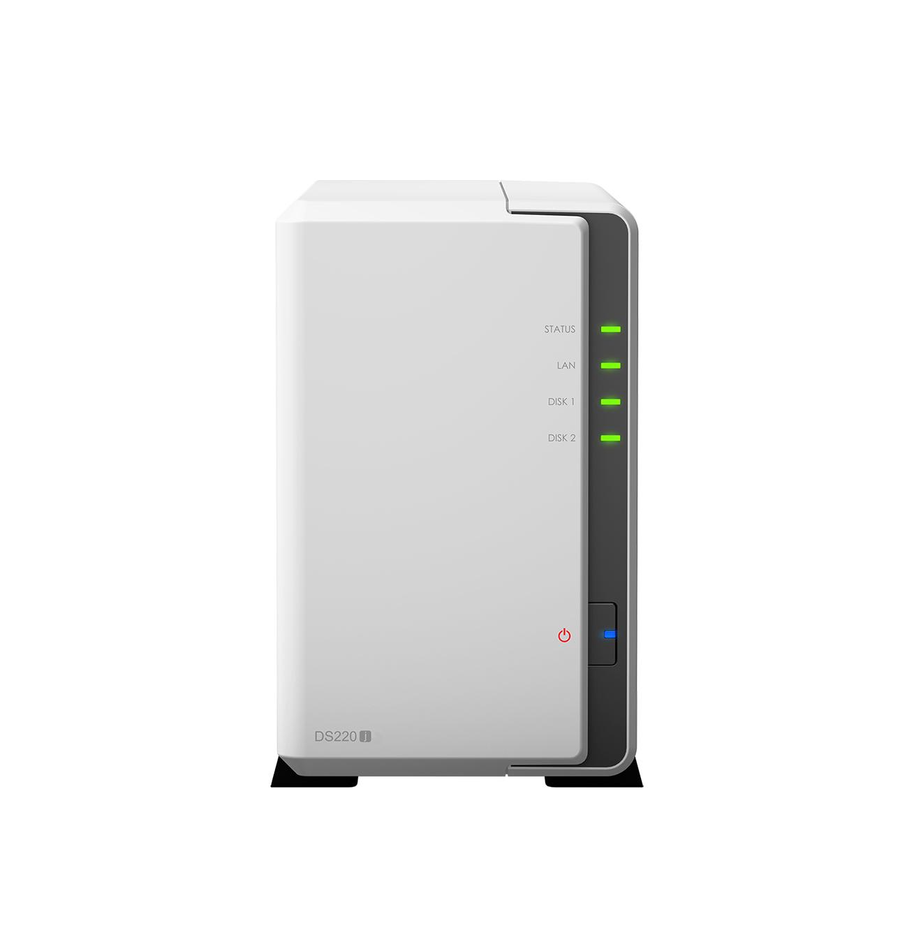Synology DiskStation DS220j NAS Server Πληρωμή έως 24 δόσεις
