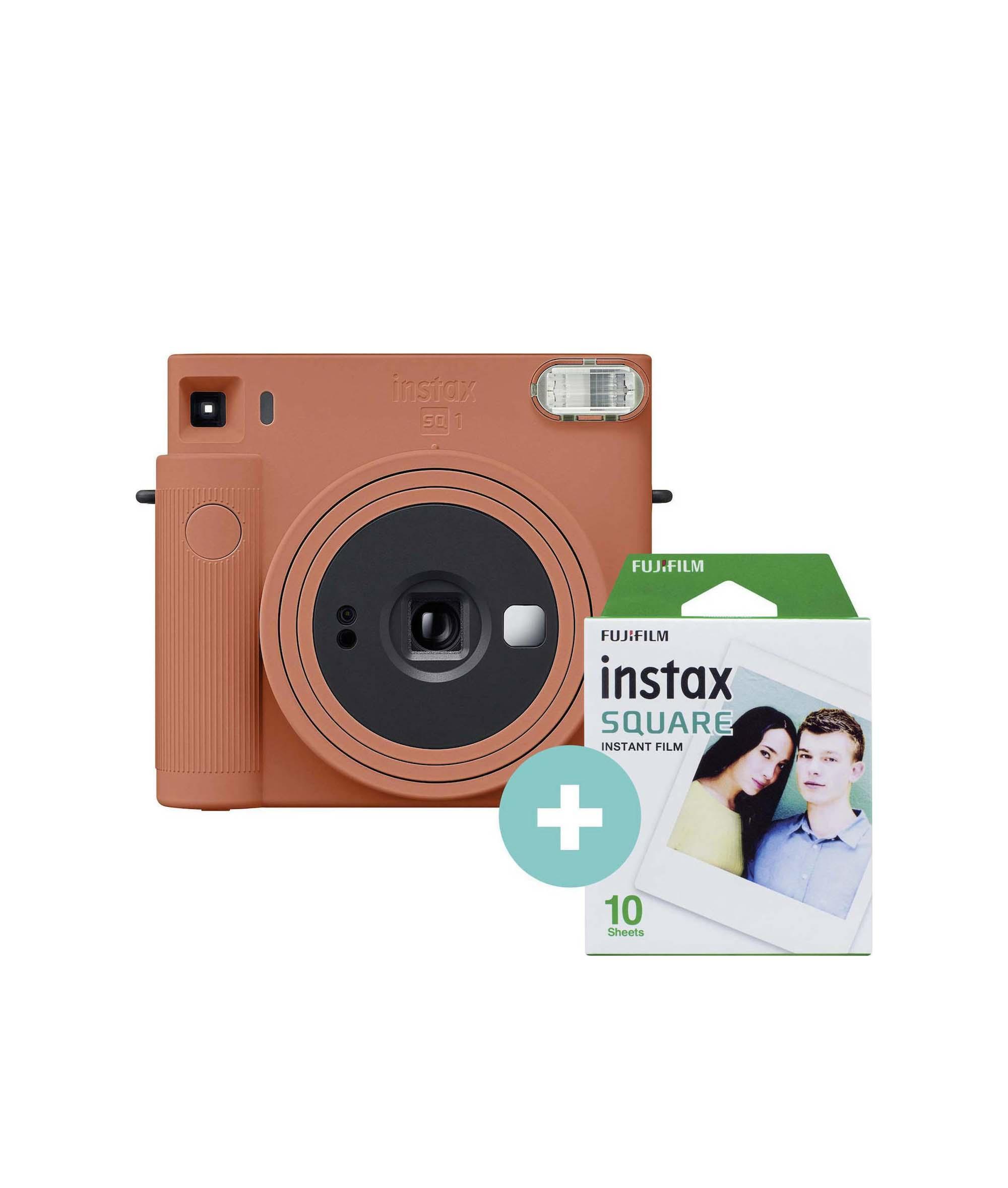 Fujifilm Instax Square SQ 1 Set Terracotta Orange Αναλογική Φωτογραφική Μηχανή 70100148679