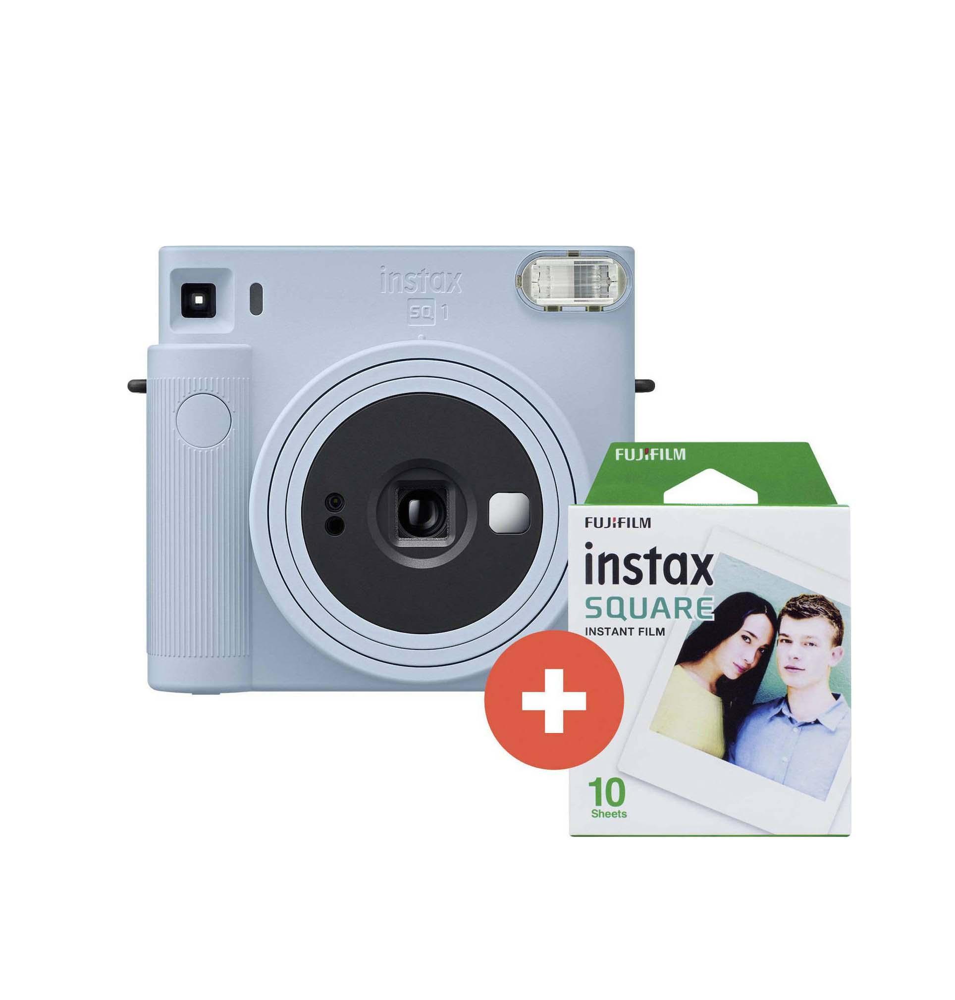 Fujifilm Instax Square SQ 1 Set Glacier Blue Αναλογική Φωτογραφική Μηχανή 70100148678