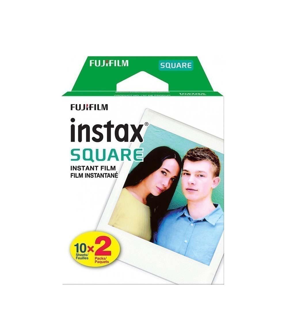 Fujifilm Instax Square (20 Exposures) White Frame Φιλμ 16576520