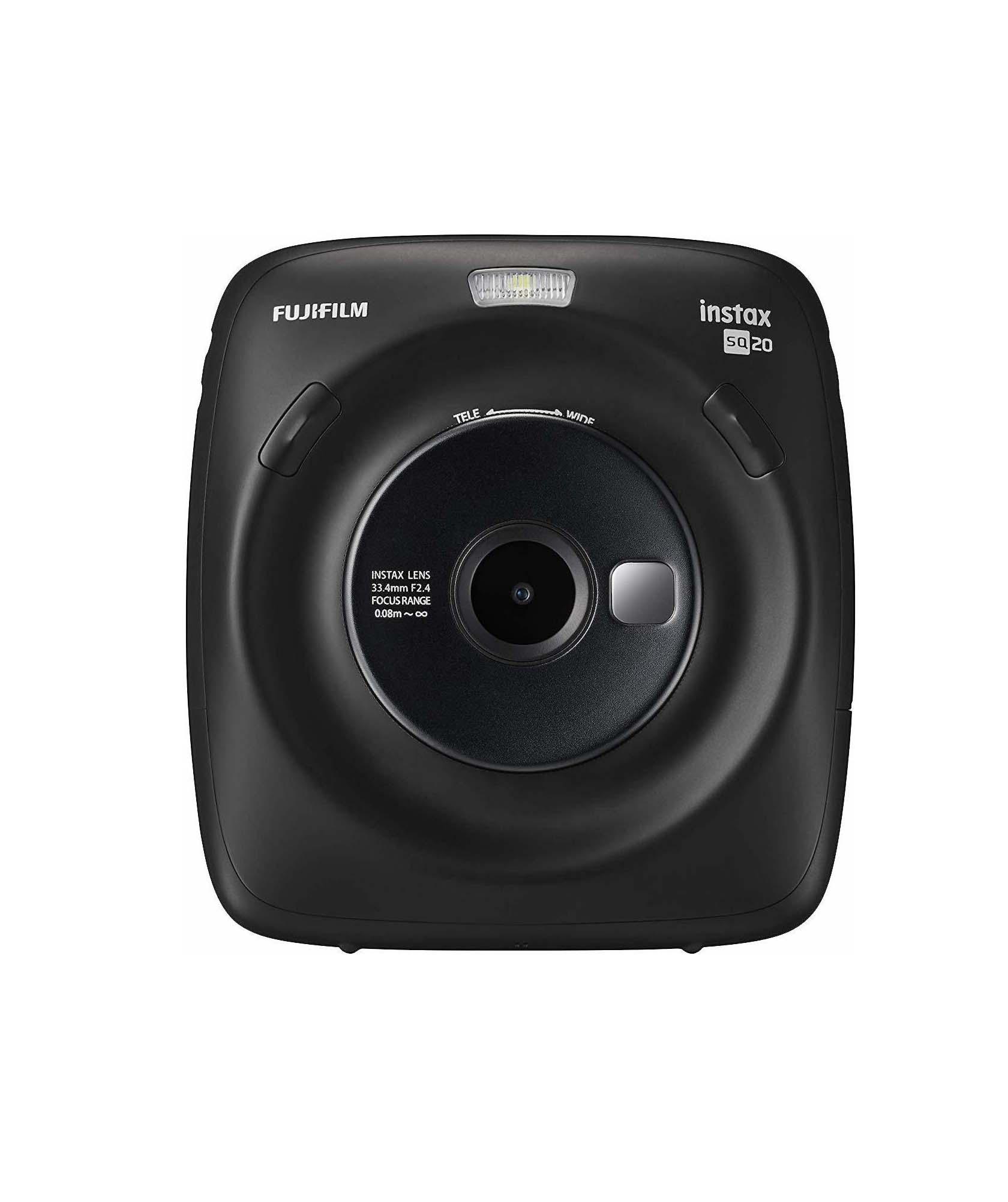 Fujifilm Instax Square SQ20 Black Αναλογική Φωτογραφική Μηχανή 16603206