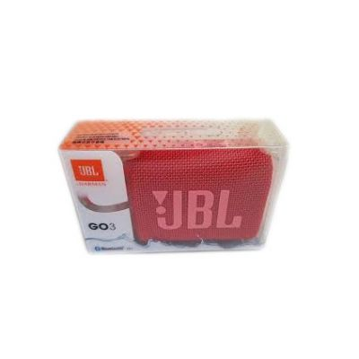 JBL Go 3 Red Bluetooth Ηχείο Red