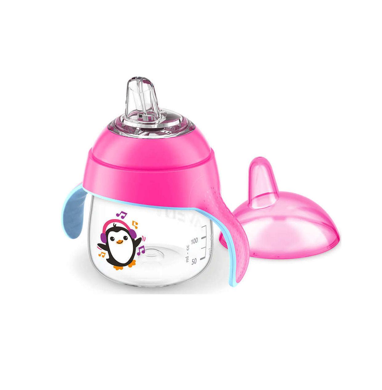 Philips Κύπελλο 200ml Pink Μπιμπερό SCF746/03