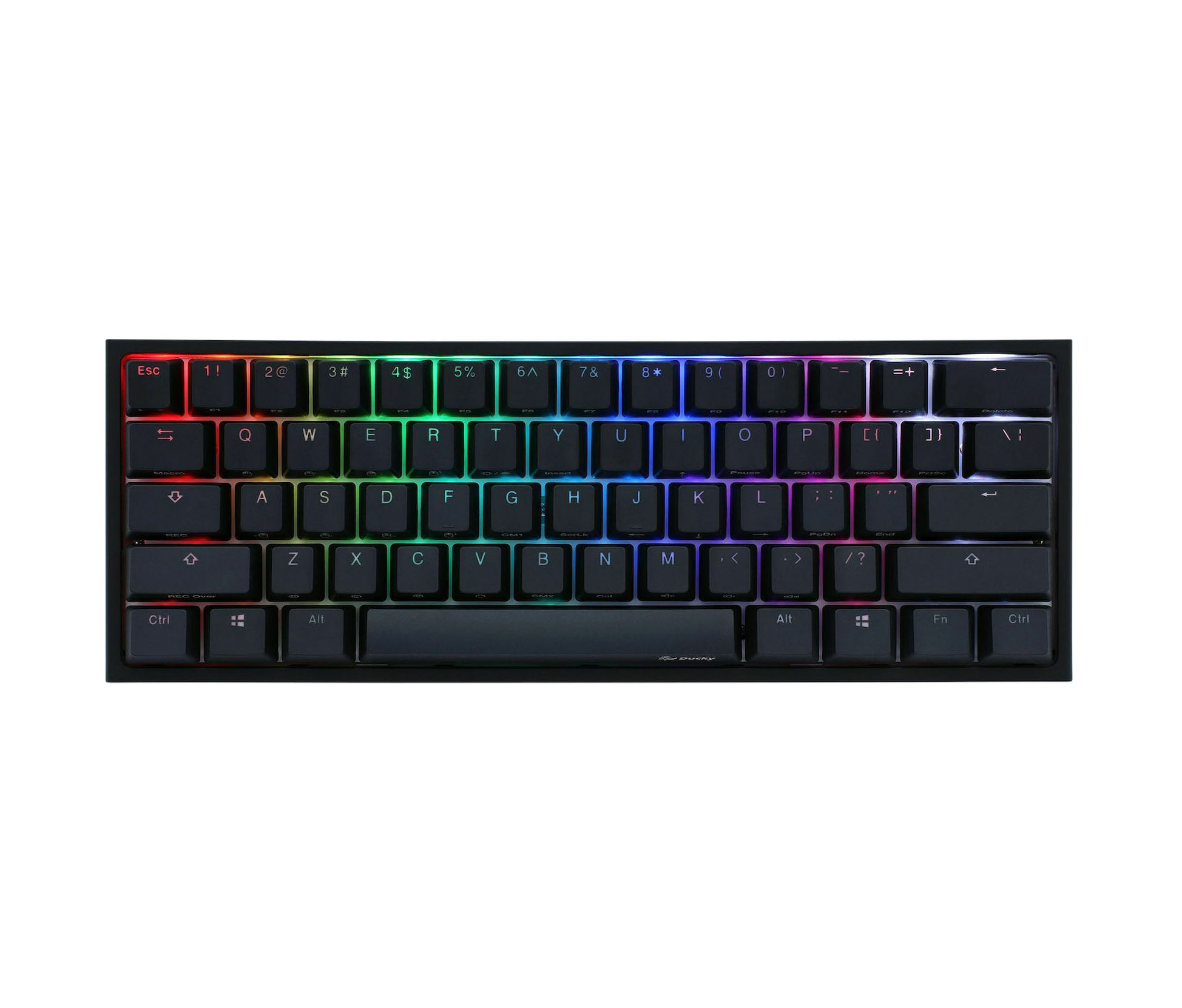 Ducky One 2 Mini RGB Cherry MX Brown Gaming Keyboard US DKON2061ST-BUSPDAZT1