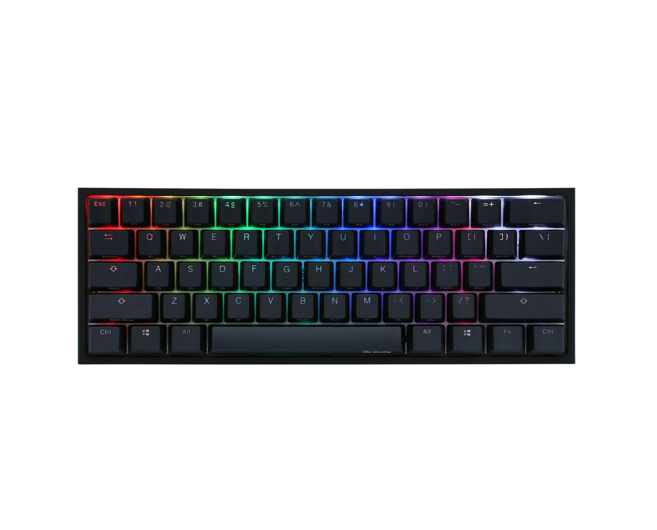 Ducky One 2 Mini RGB Cherry MX Red Gaming Keyboard US DKON2061ST-RUSPDAZT1