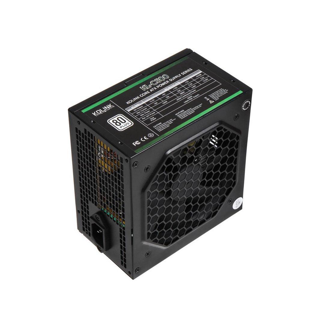 Kolink Core 80 Plus 500W Full Wired 80 PlusΤροφοδοτικό KL-C500
