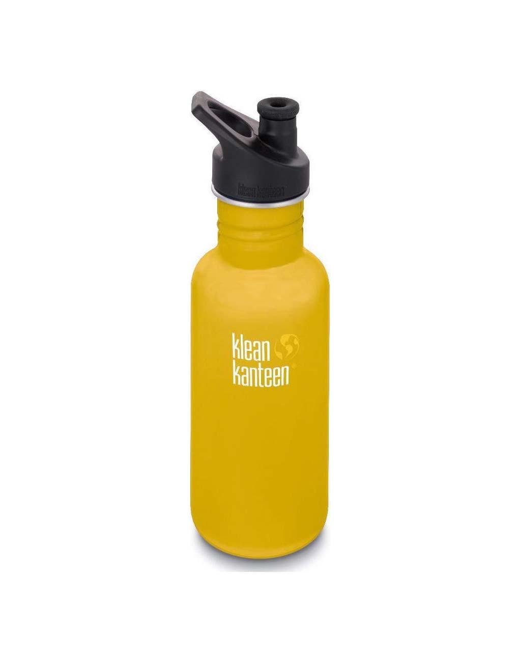 Klean Kanteen 532ML Sport Cap Lemon Curry Παγούρι