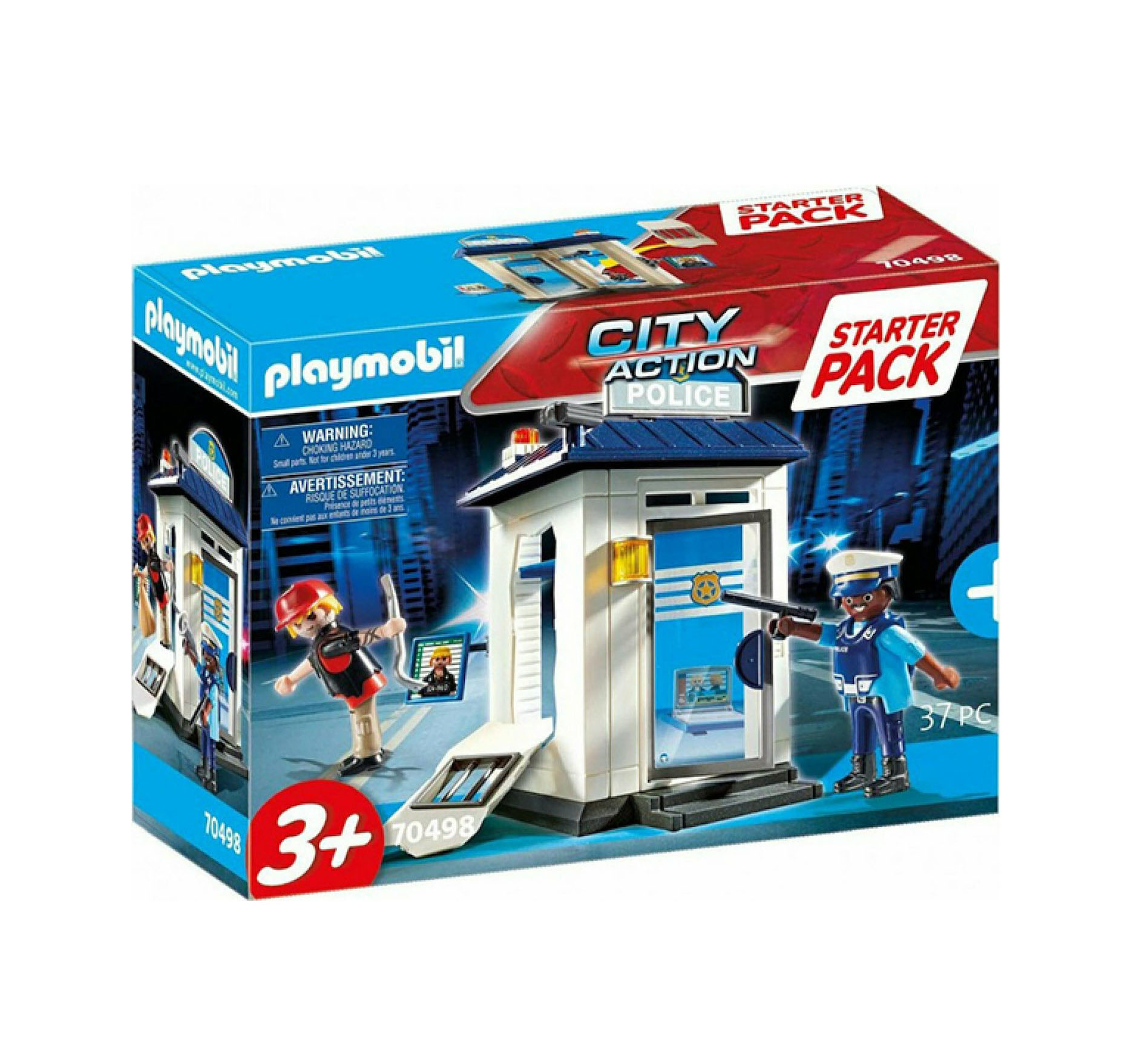 Playmobil City Action: Starter Pack Αστυνομικό Τμήμα 70498