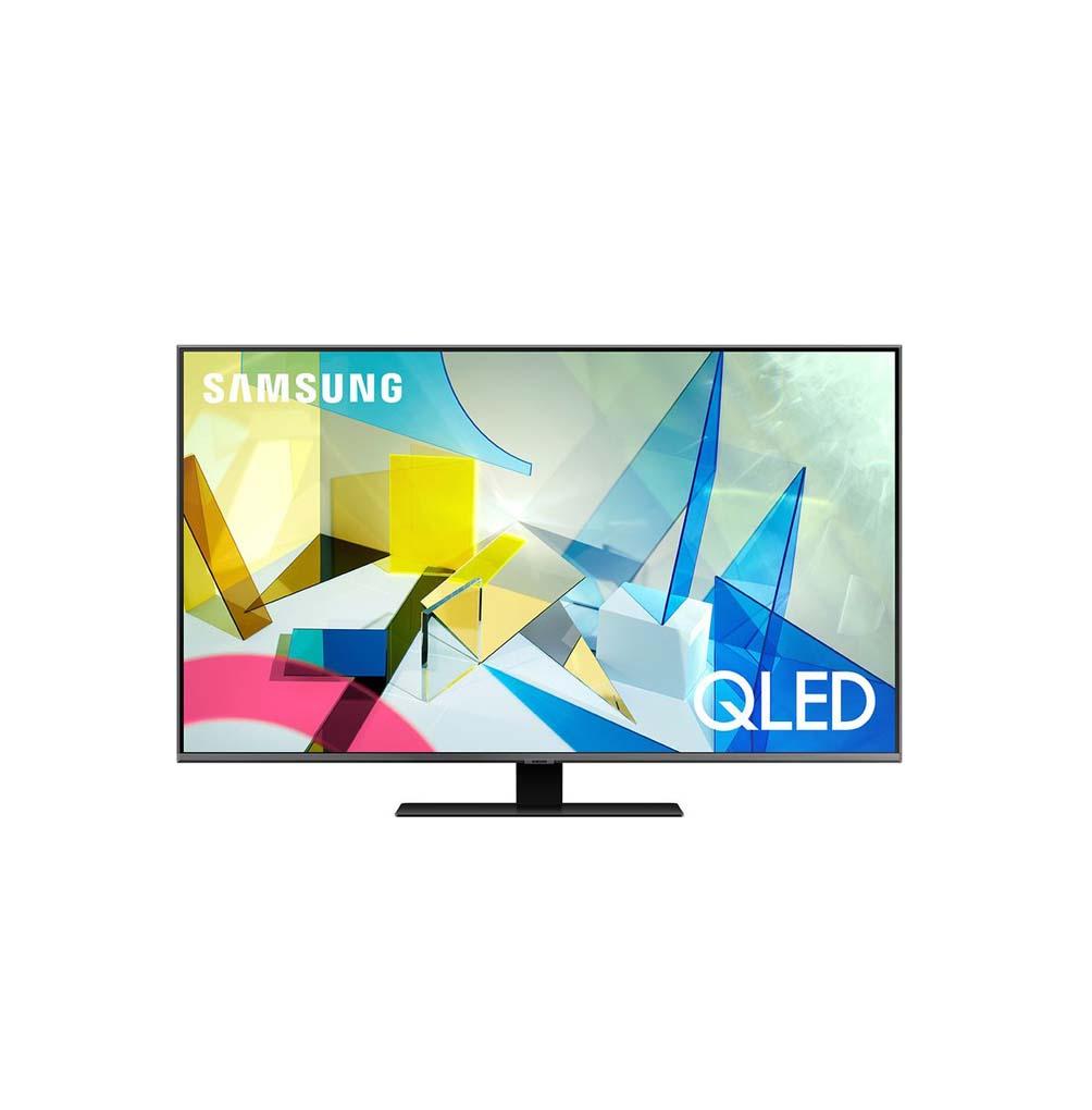 """Samsung QE50Q80T Smart 4K UHD 50"""" Τηλεόραση Πληρωμή έως 24 δόσεις"""