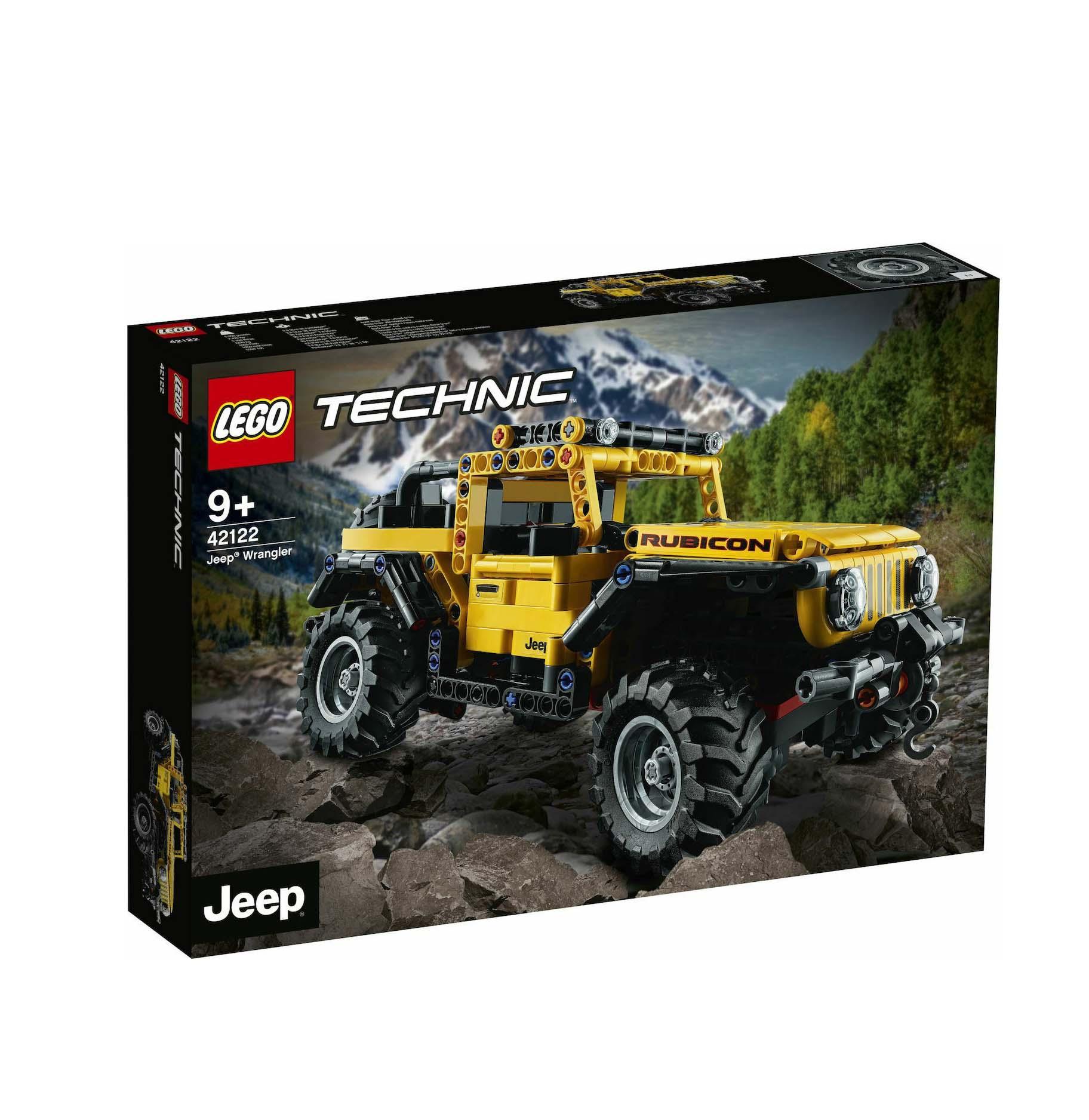 Lego Technic: Jeep Wrangler 42122