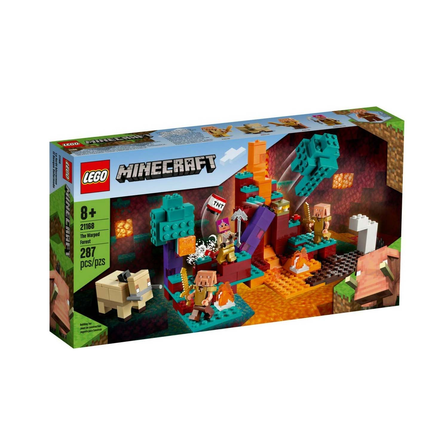 Lego Minecraft: The Warped Forest 21168